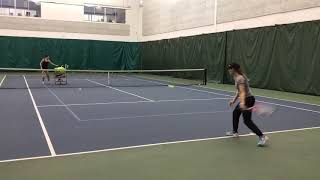 Tuesday Tennis Tips: Practicing a variety of shots