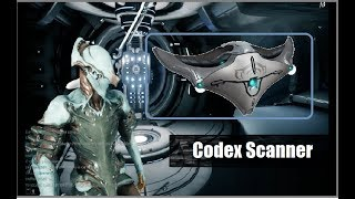 Warframe | How To Use Codex Scanner