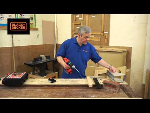 Black & Decker 18v Combi Drill c/w 2 Batteries