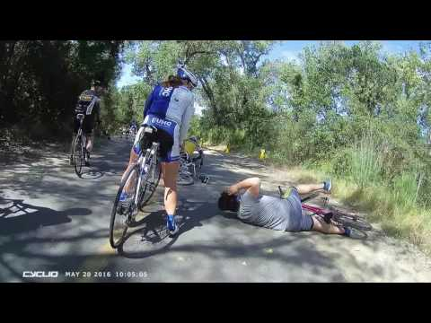 Trail Cyclist Collision