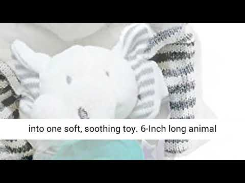 Gift For New Baby -Flappy The Elephant With Wubba Nub Pacifier