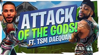 37 KILLS TOTAL WITH DAEQUAN! ATTACK OF THE GODS... (Fortnite BR Full Game)