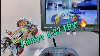 Tamiya Mini 4WD FPV Test!