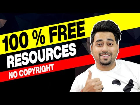 Best Free Websites for Graphic Designers - 100% Free Design Resources for Commercial Use 2021 HINDI