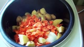 Как приготовить мясной суп в мультиварке - быстрый видео рецепт / Meat soup video recipe