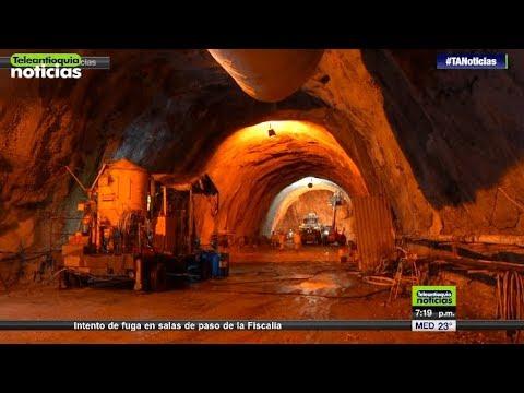 El 30 de marzo estara listo el Tunel de Oriente - Teleantioquia Noticias