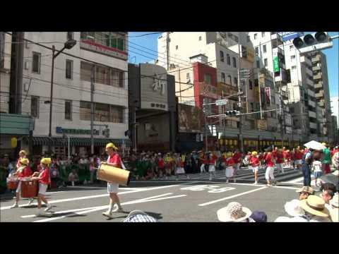2012 台東区立浅草小学校 サンバ隊