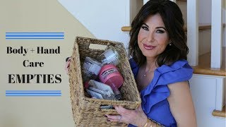 BODY + HAND CARE Empties | MARCH | Kholo.pk