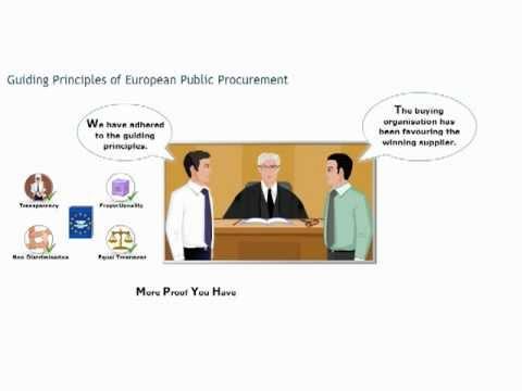 European public procurement course: guiding principles ... - YouTube