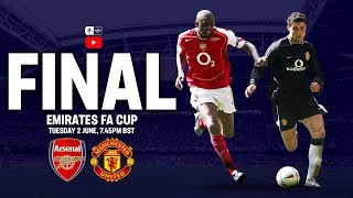 Arsenal 0-0 Manchester United (5-4 on pens) | Full Match | 2005 Final | FA Cup 2004/05