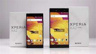 Unboxing: Sony Xperia XA2 & XA2 Ultra (Deutsch) - Mittelklasse mit altem Design? | SwagTab