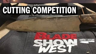 Murray WINS Blade Show West's Cutting Competition!