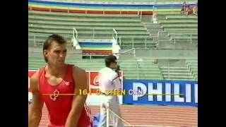 World Rome 1987- Pole Vault Dave Steen 4m60