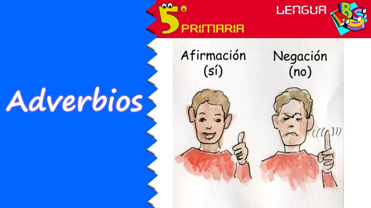 Adverbios. Lengua, 5º Primaria. Tema 7