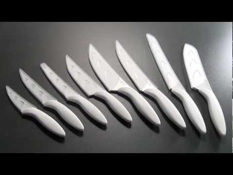 Video Tescoma PRESTO BIANCO antiadhézní kuchařský nůž 17 cm 1