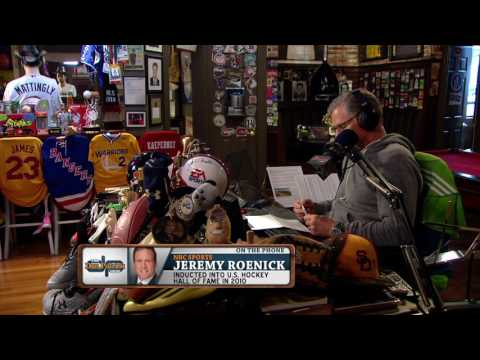 NBC Sports' Jeremy Roenick on The Dan Patrick Show (Full Interview) 05/10/2017