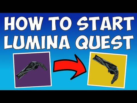 Destiny 2 - HOW TO START THE LUMINA QUEST