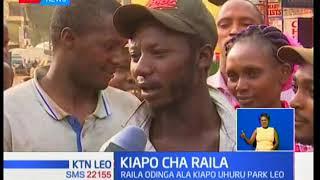 Katika sehemu nyingine ambazo Raila Odinga ana ufuasi mdogo kulikuwa na hisia mbalimbali