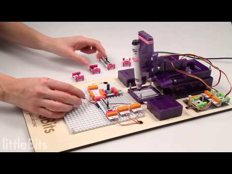 littleBits CNC Bot