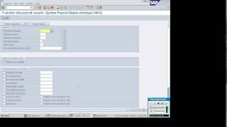 SAP Payroll Processing  Part 1