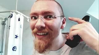 17.11.2019 Haare schneiden (Panasonic ER 1611) rasieren (Barbasol sensitiv und Mach 3)