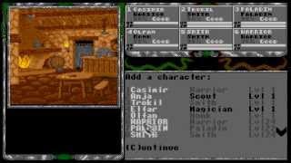ATARI ST Legend of Faerghail
