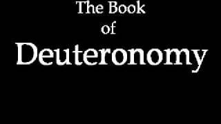 The Book of Deuteronomy (KJV)
