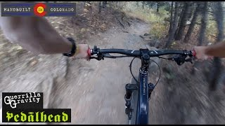 Guerrilla Gravity Pedalhead Shredding White Ranch!  Golden, CO.