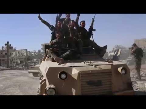 Una cronología de la intervención norteamericana en Siria