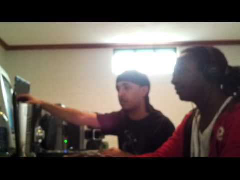 $crillaBeatz and KE in the studio