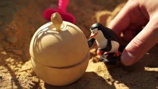 Игрушки для детей ищут сокровища пиратов в Песке