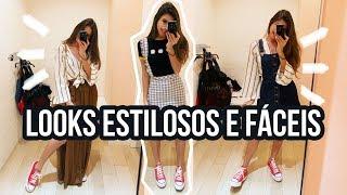 Provando Looks Em Fast Fashion Na Forever 21 - Viihrocha