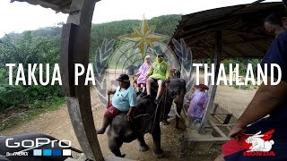 preview picture of video 'Takua Pa Elephant Ride'