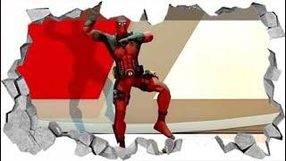 Deadpool pressing dance ⁴ᴷ [ Over 360 ]