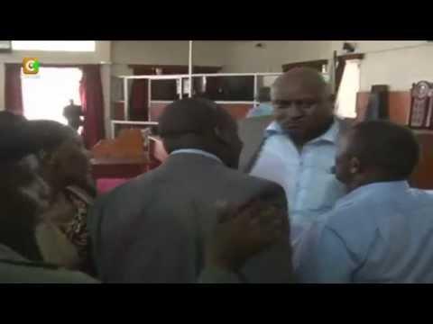 MCAs wavutana kwenye bunge, Nakuru