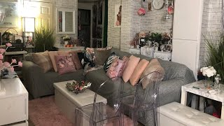 Living Room and Kitchen Makeover Tour