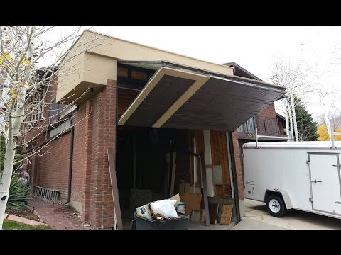 Worlds Coolest Garage Door Homemade for RV
