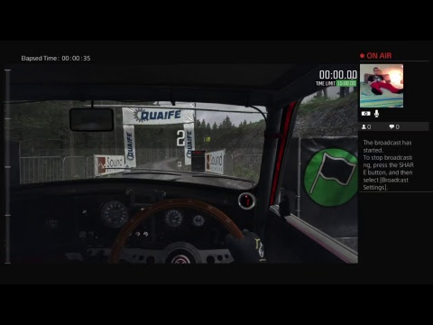 Shim Plays Dirt Rally on PS4
