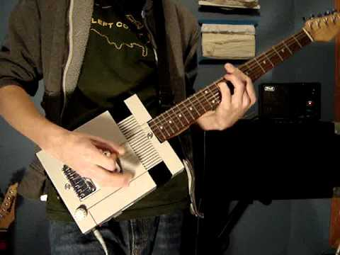 Going Off The Rails On A Guitar Made Out Of An NES