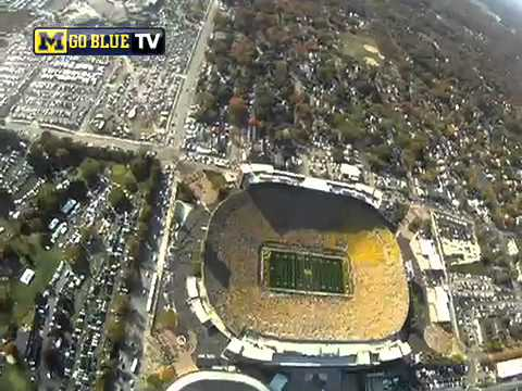 What It's Like To Parachute Into The Big House