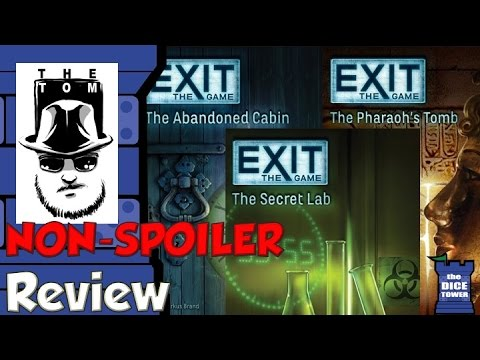 EXIT: The Game Review - with Tom Vasel