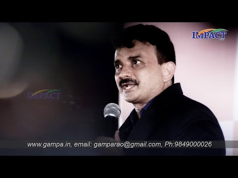 How to become a Good Speaker|Uday Kumar| TELUGU IMPACT Hyd 2014-Part2