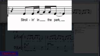 Finale's Click Assignment Lyrics Tool Feature - YouTube