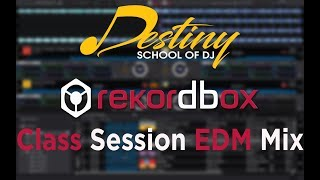 Rekordbox Class Session ( EDM MIX 2018) | Learn to Dj In Hyderabad