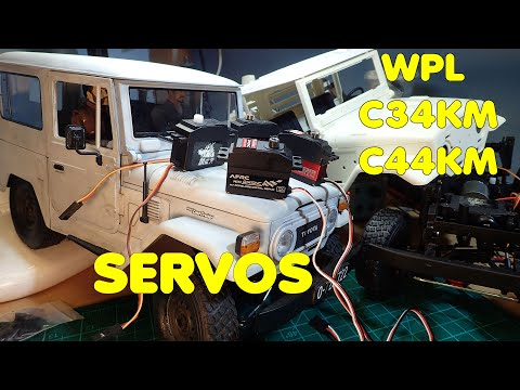 WPL C44KM and C34KM: Servo test