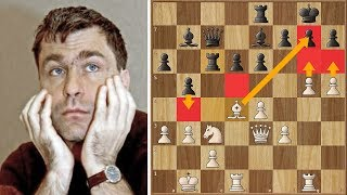 Vassily Ivanchuk's Blindfold Brilliancy - Loek Never Saw it Coming