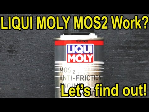Does Liqui Moly MOS2 Work?  Let's find out!