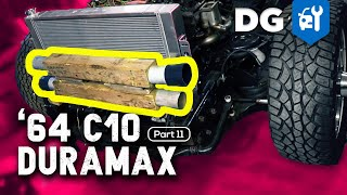 "Cooling a Duramax with an ""Intercooler For Now""... #TTDuramaxC10 [EP11]"