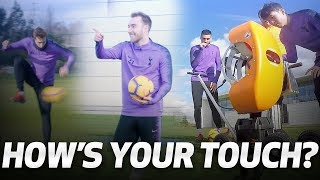 HIGH-SPEED BALL CANNON | HOW'S YOUR TOUCH? | Ft. Sonny, Eriksen, Llorente & Gazzaniga