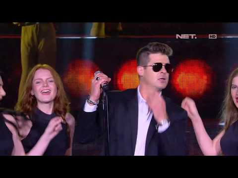 Robin Thicke - Blurred Lines - LIVE From NET 4.0 Presents Indonesian Choice Awards 2017 Mp3